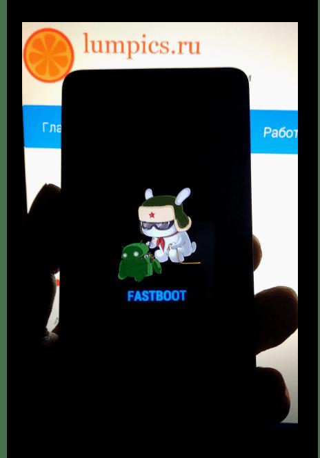 Xiaomi Redmi 2 в режиме FASTBOOT