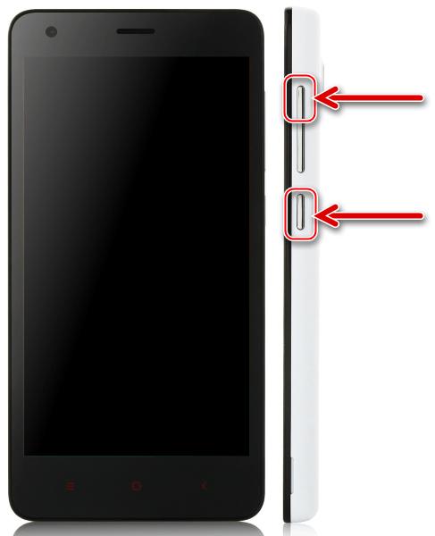 Xiaomi Redmi 2 запуск режима Preloader