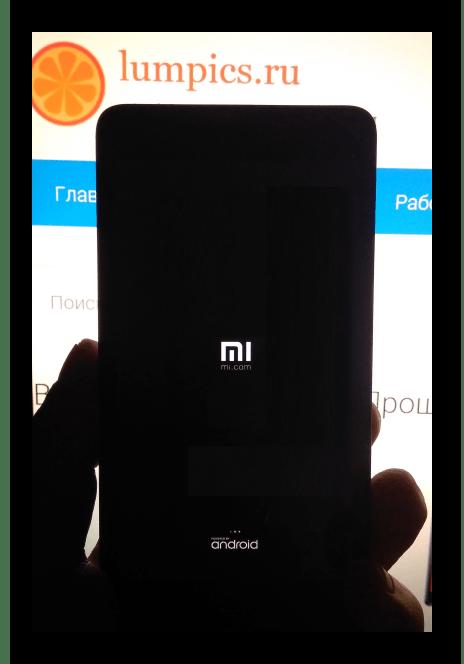 Xiaomi Redmi 2 запуск телефона после восстановления через QFIL