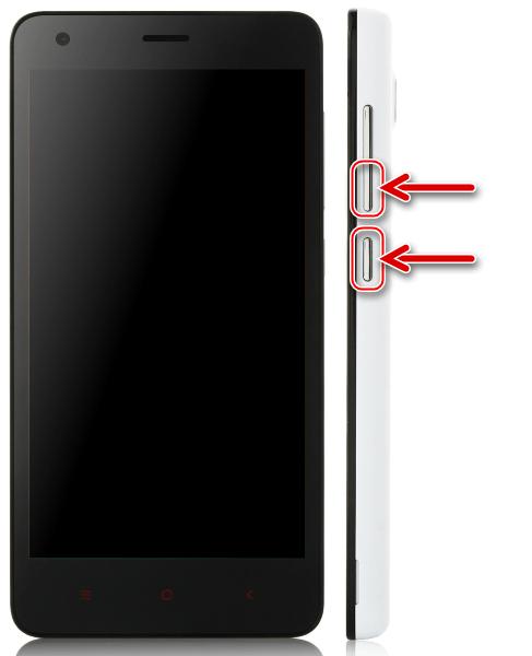 Xiaomi Redmi 2 запуск в режиме Fastboot