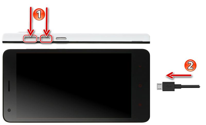 Xiaomi Redmi 2 запуск в режиме QDLOADER (Download)