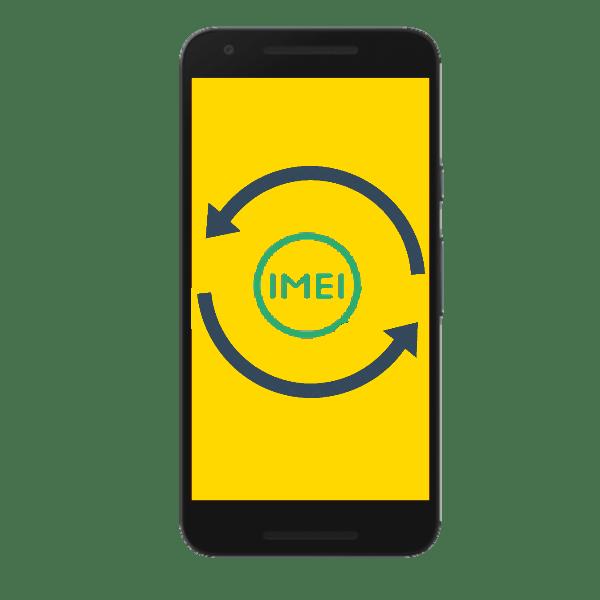 как сменить imei на android