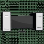 Как подключить один монитор к двум компьютерам