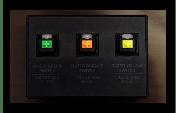 Механические переключатели Razer