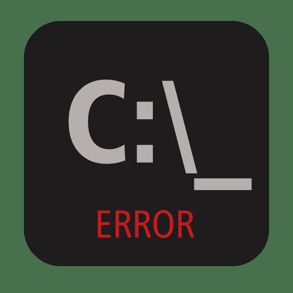 Ошибка приложения cmd.exe