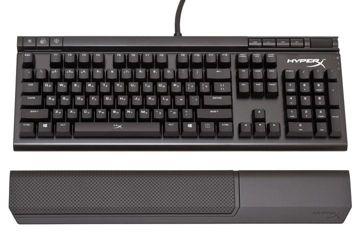 Подставка под ладонь на клавиатуре