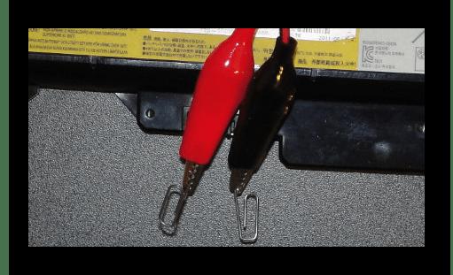 Процесс повторного измерения вольтажа батареи от ноутбука