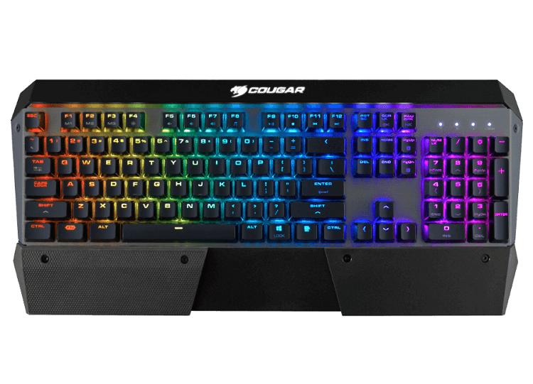 Внешний вид игровой клавиатуры