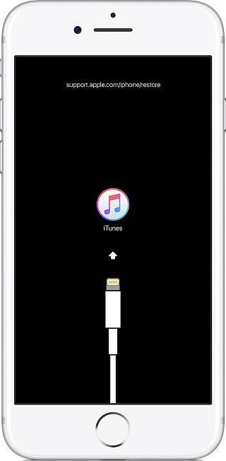 iPhone в режиме Recovery