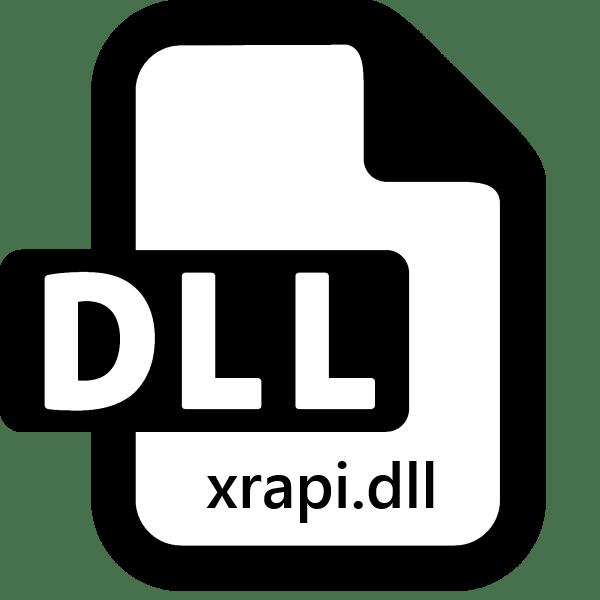 xrapi.dll скачать бесплатно