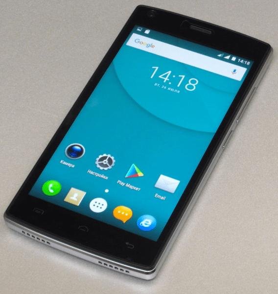 Doogee X5 MAX способы прошивки смартфона