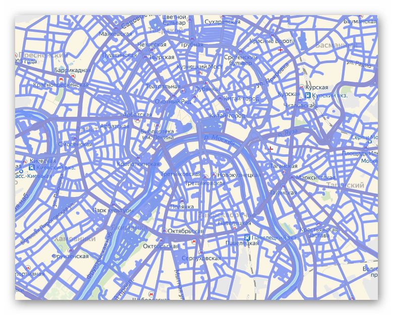Дороги, на которых доступна панормамная прогулка в Яндекс.Картах
