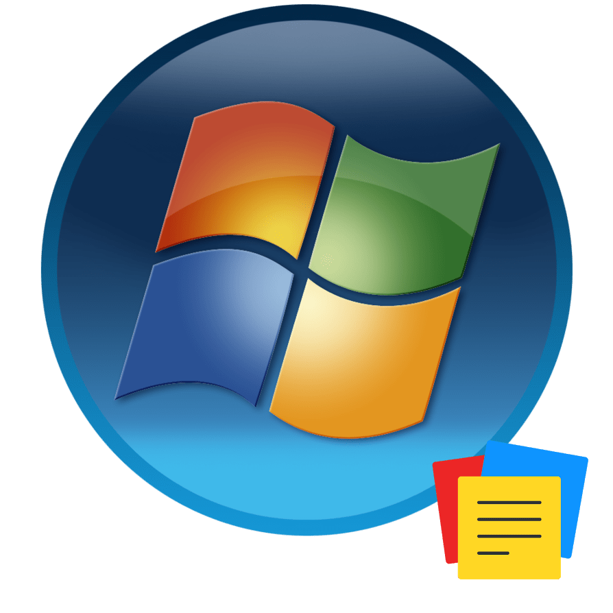 Гаджеты заметок в Windows 7