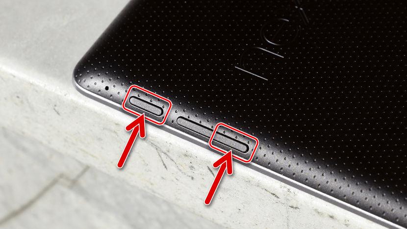 Google Nexus 7 3G (2012) комбинация клавиш для входа в FASTBOOT
