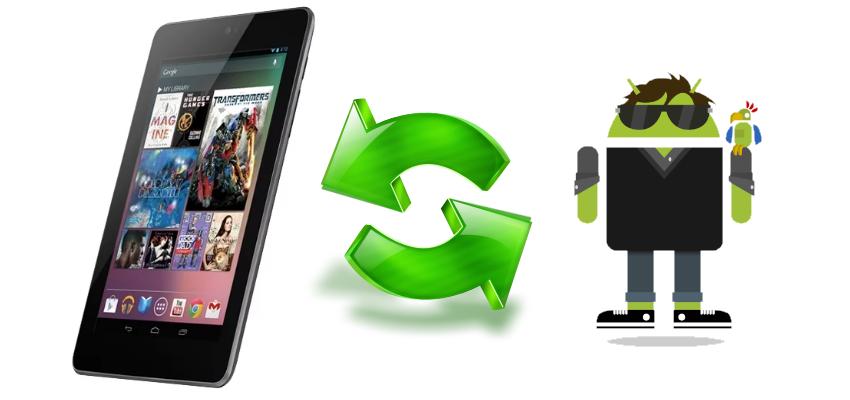 Google Nexus 7 3G (2012) любой тип бэкапа через Nexus Root Toolkit