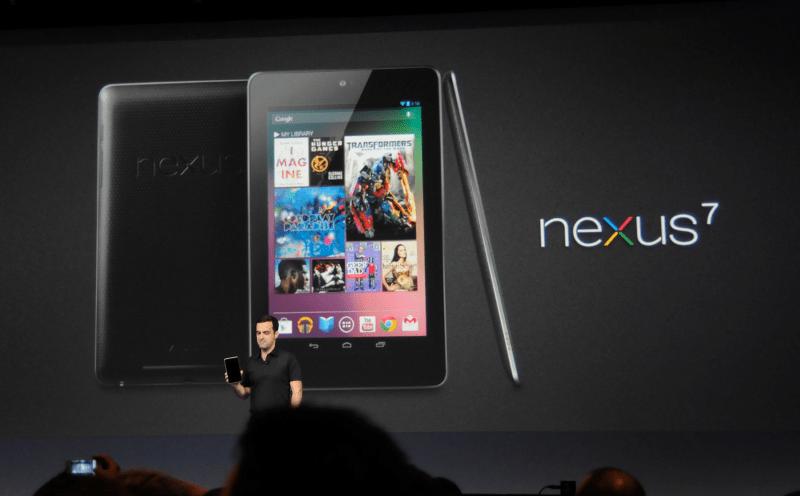 Google Nexus 7 3G (2012) - референсное устройство для разработки мобильных ОС