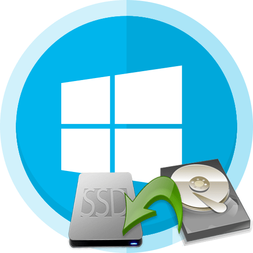 Как перенести Windows 10 с жесктого диска на SSD диск