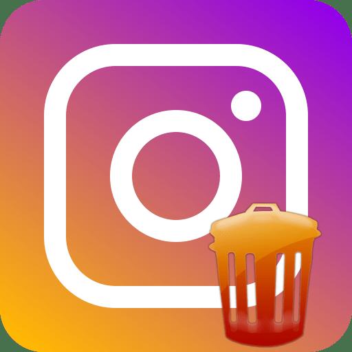 Как удалить сразу все фото в Инстаграм