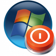 Отключение компьютера с помощью гаджетов в Windows 7