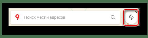 Переход к построению маршрута на странице Яндекс.Карты