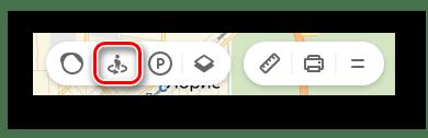 Переход ко вкладке Панорамы улиц и фотографии на странице Яндекс.Карты