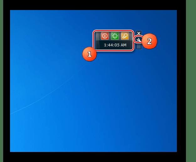 Переход в настройки гаджета Shutdown в Windows 7