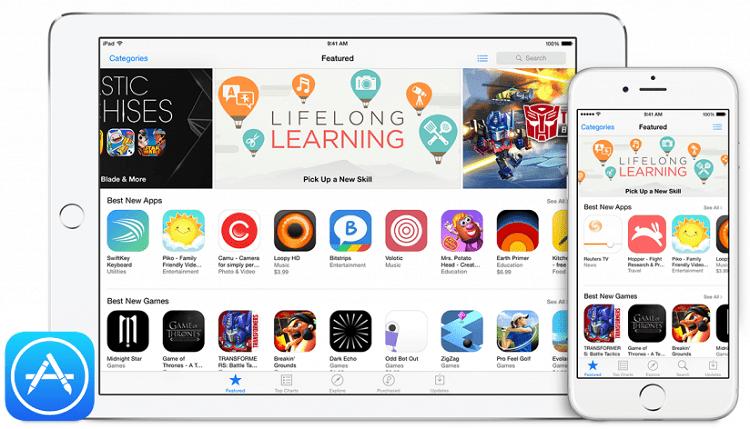 Приложения в AppStore