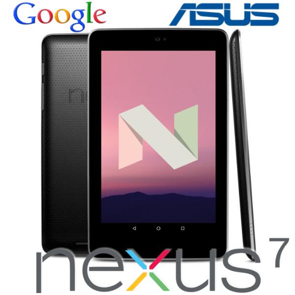 Прошивка Nexus 7