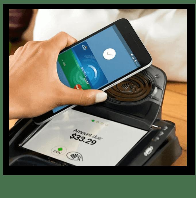 Процесс оплаты с помощью Android-Pay