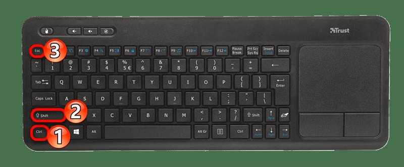 Сочетание клавишь для запуска диспетчера задач в операционной системе виндовс 10