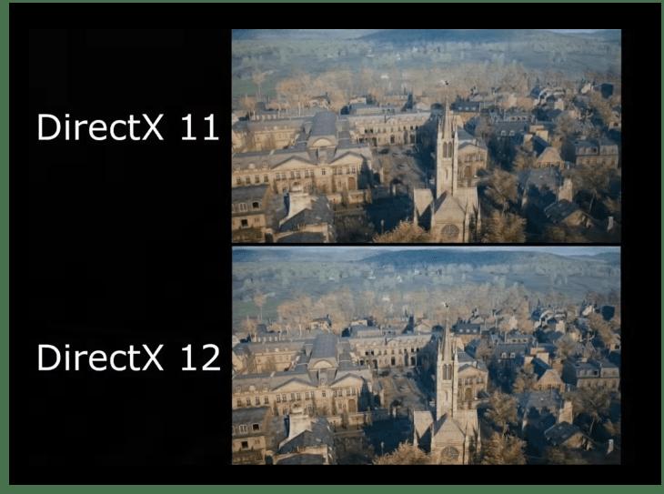 Сравнение DirectX 11 и 12