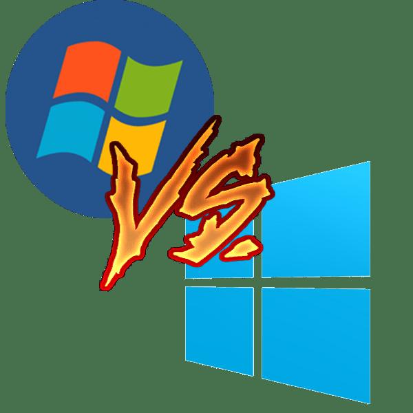 Сравнение Windows 7 и Windows 10