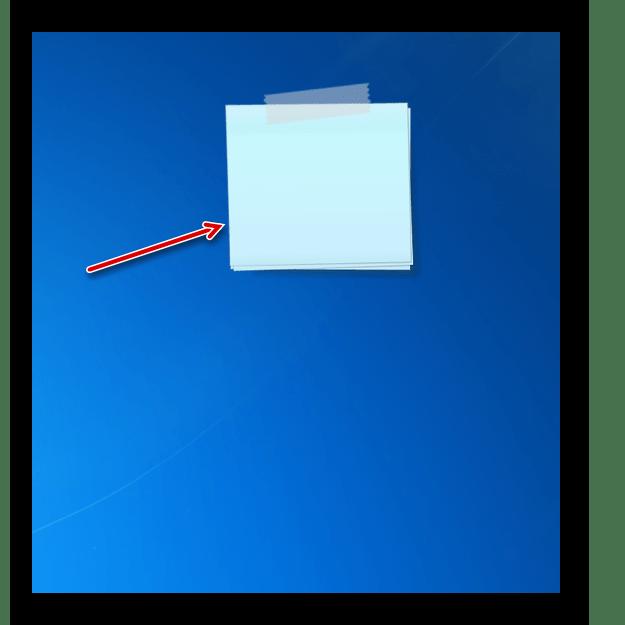 Цвет интерфейса гаджета стикеров Chameleon Notescolour на Рабочем столе изменен в Windows 7