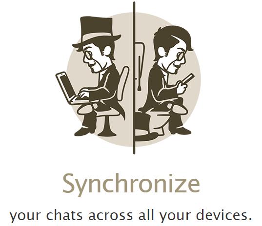 Telegram синхронизация сведений между всеми активированными версиями