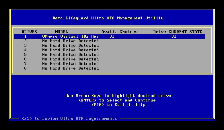 Ultra ATA Manager
