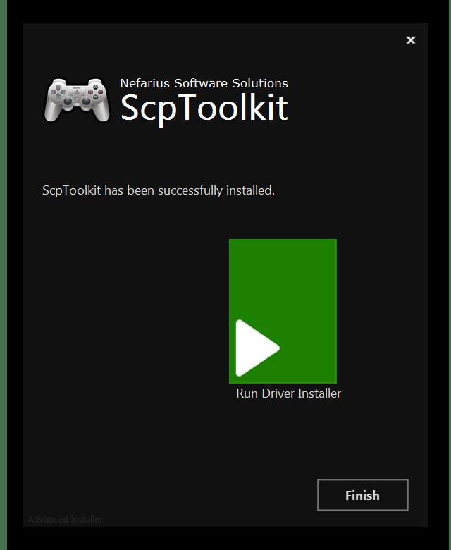 Загрузка драйверов через SCP Toolkit