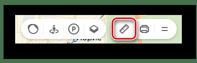 Значок Линейка в Яндекс.Картах