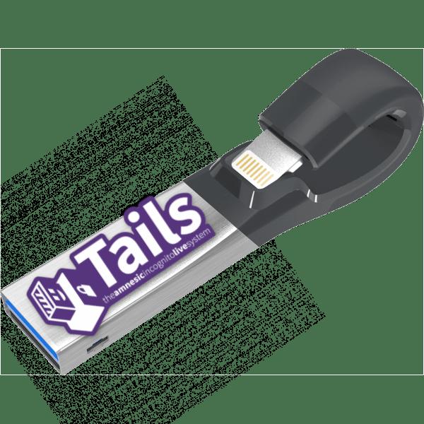 как установить tails на флешку