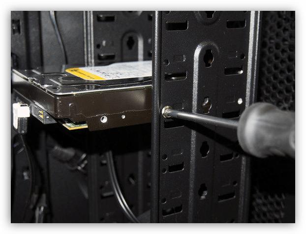 винты удерживающие жесткий диск в боксе в системном блоке