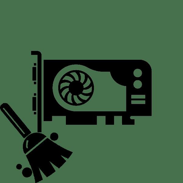 Как почистить видеокарту от пыли
