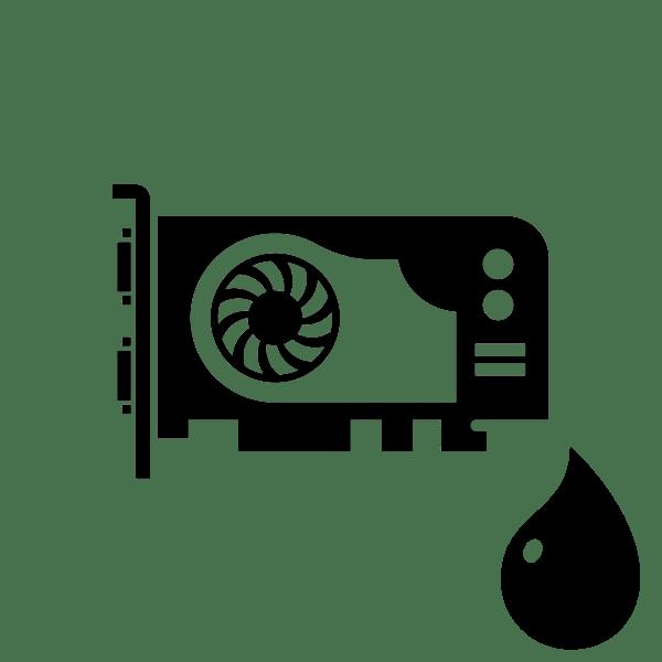 Как смазать кулер на видеокарте