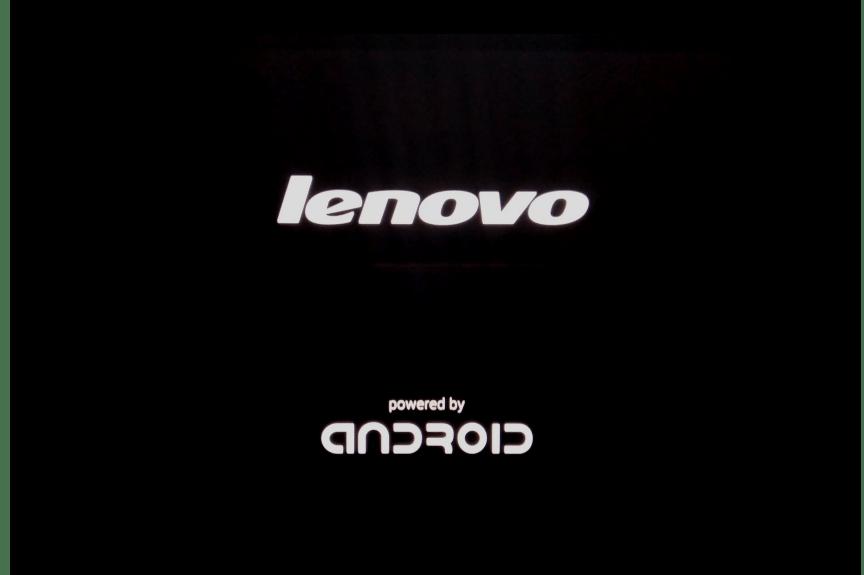 Lenovo IdeaPad A7600 первый долгий запуск после прошивки через рекавери