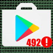 Ошибка 492 при скачивании с Google Play Market