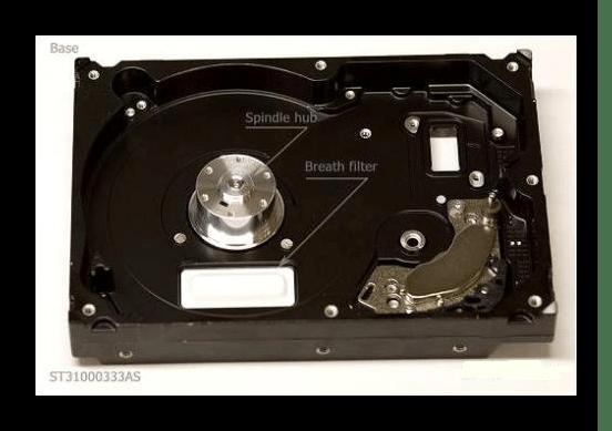 Пространство для выравнивания давления в HDD
