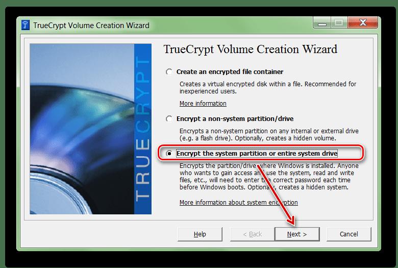 Шифрование жесткого диска в TrueCrypt
