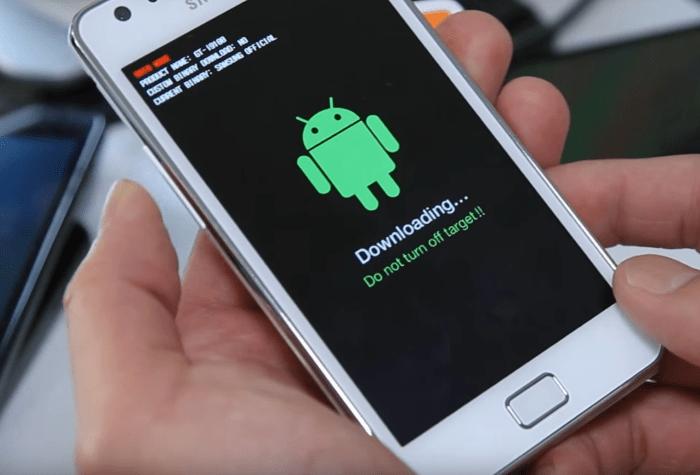 Samsung Galaxy S 2 GT-I9100 переключение в режимы для прошивки