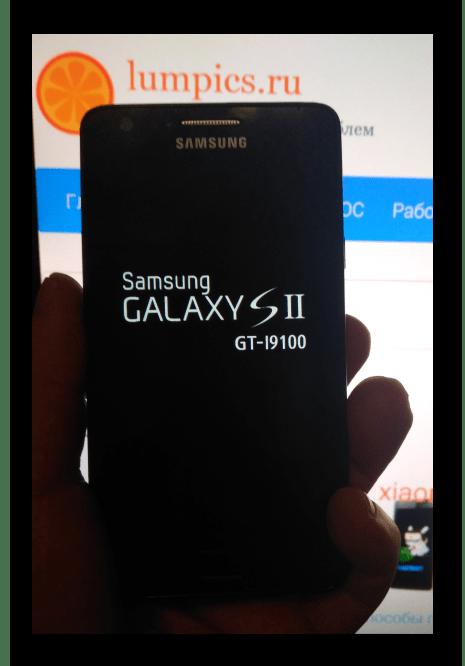 Samsung Galaxy S 2 GT-I9100 зарядка аккумулятора перед сбросом и обновлением