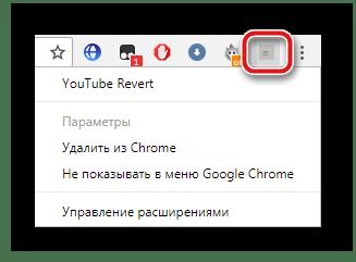 Активные расширения в Google Chrome