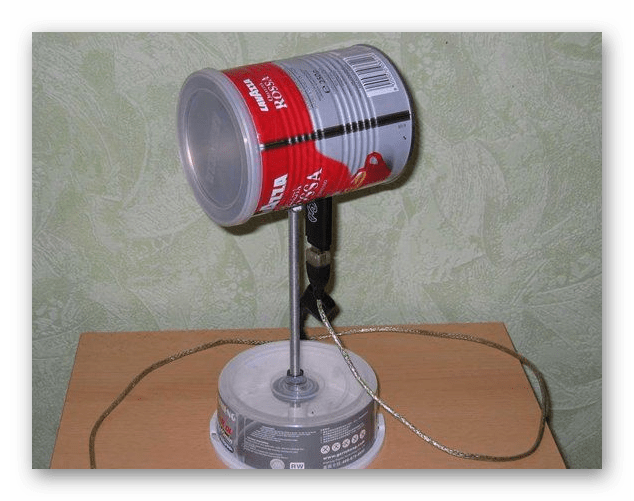 Баночная антенна Йота