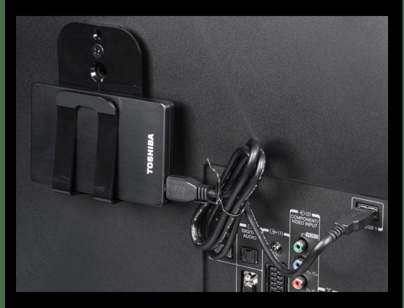 Как подключить HDD к телевизору
